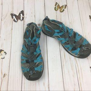 Keen Blue Sandals Size 9.5